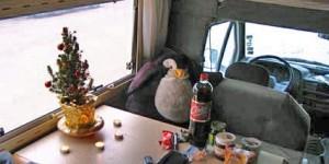 Weihnachten mit Pingu im Wohnmobil