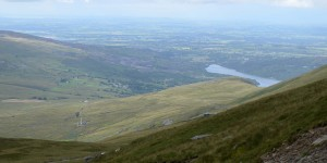 Ausblick im Snowdonia-Nationalpark