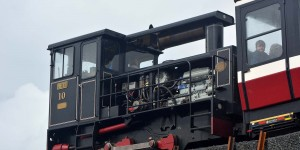 Zahnradbahn in Wales