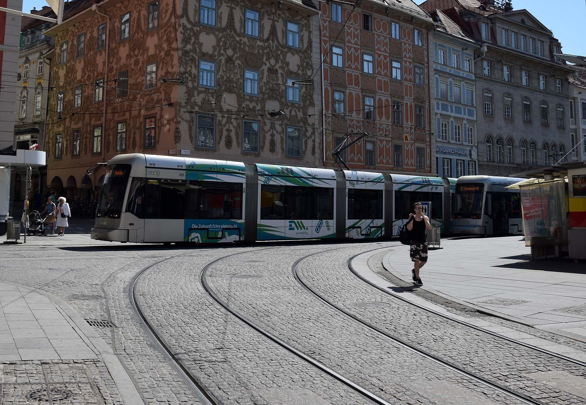 Tram in Graz