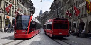 Bus und Bahn in Bern