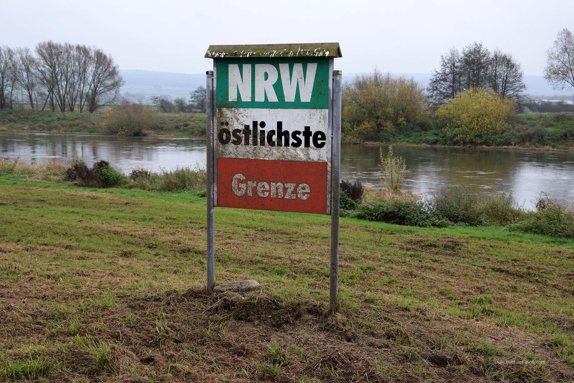 Östlichster Punkt von NRW