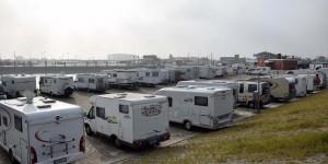 Wohnmobilstellplatz in Harlesiel