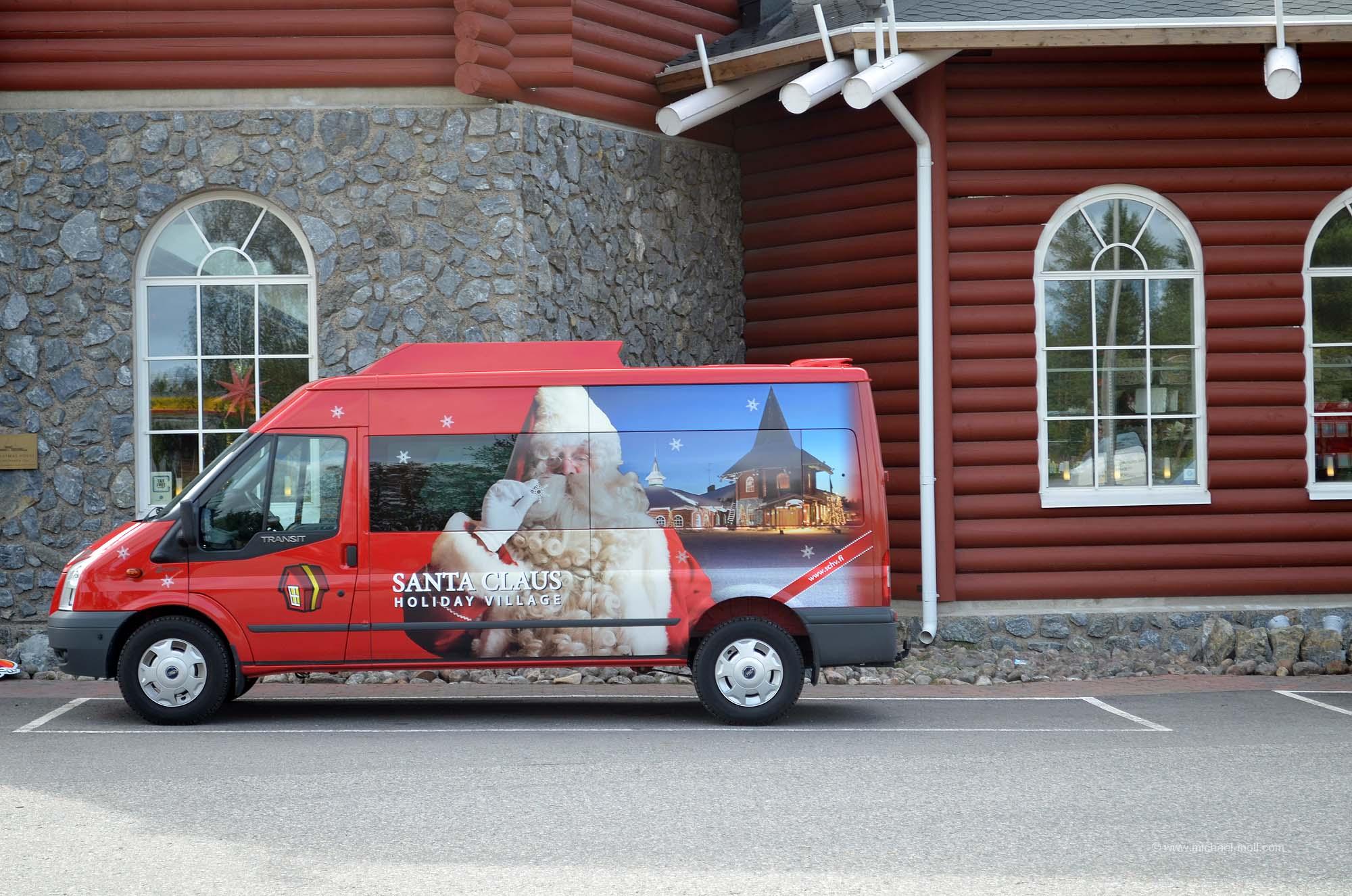 Der Dienstwagen vom Weihnachtsmann