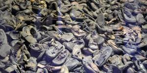 Schuhe der Getöteten