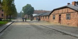 Gedenkstätte im polnischen Auschwitz