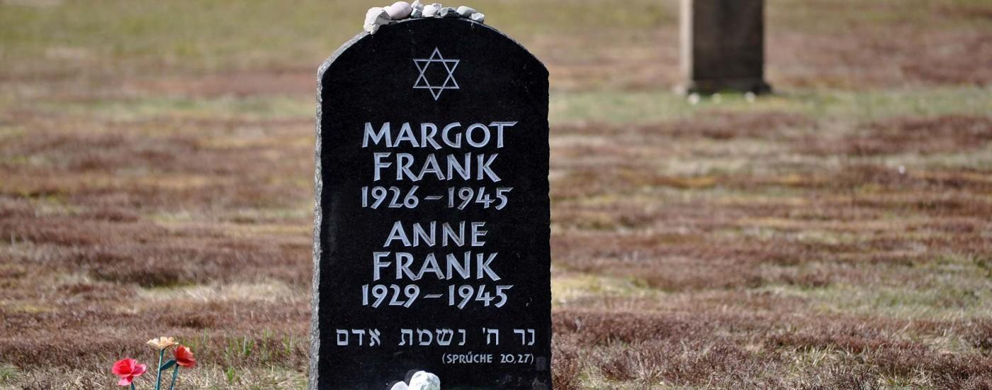 Symbolisches Grabmal von Anne Frank