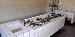 Im Krematorium von Buchenwald