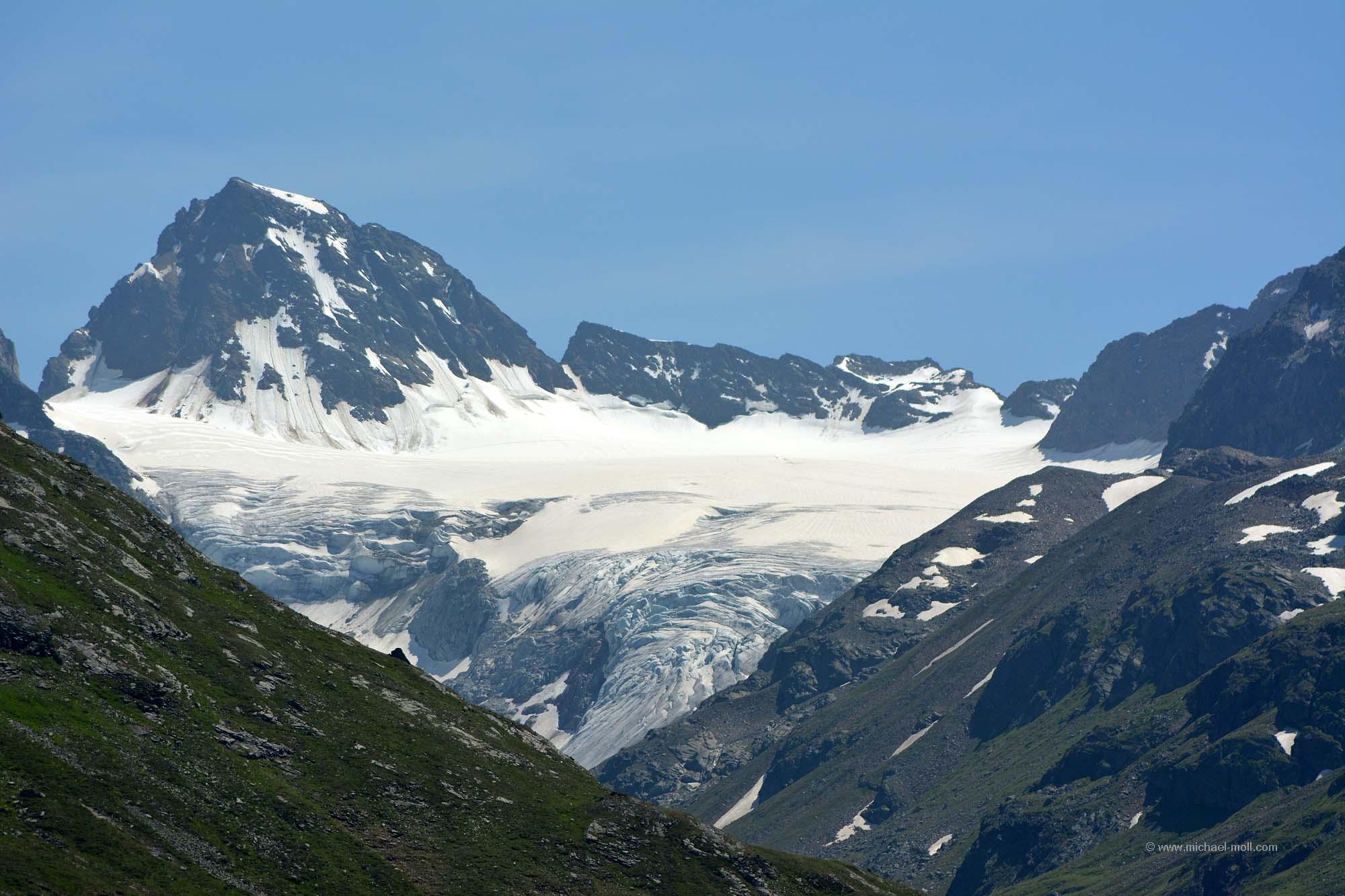 Ochsentaler Gletscher in Österreich