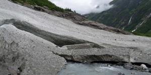 Reste einer Gletscherzunge
