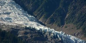 Gletscher bei Chamonix
