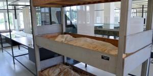 Betten des Lagers