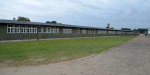 Baracken in Sachsenhausen