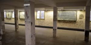 Ausstellung in originalen Räumen