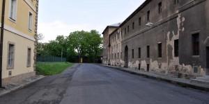 Straße im Ghetto Theresienstadt