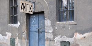 Geschäft im einstigen Ghetto