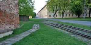 Alte Eisenbahnrampe