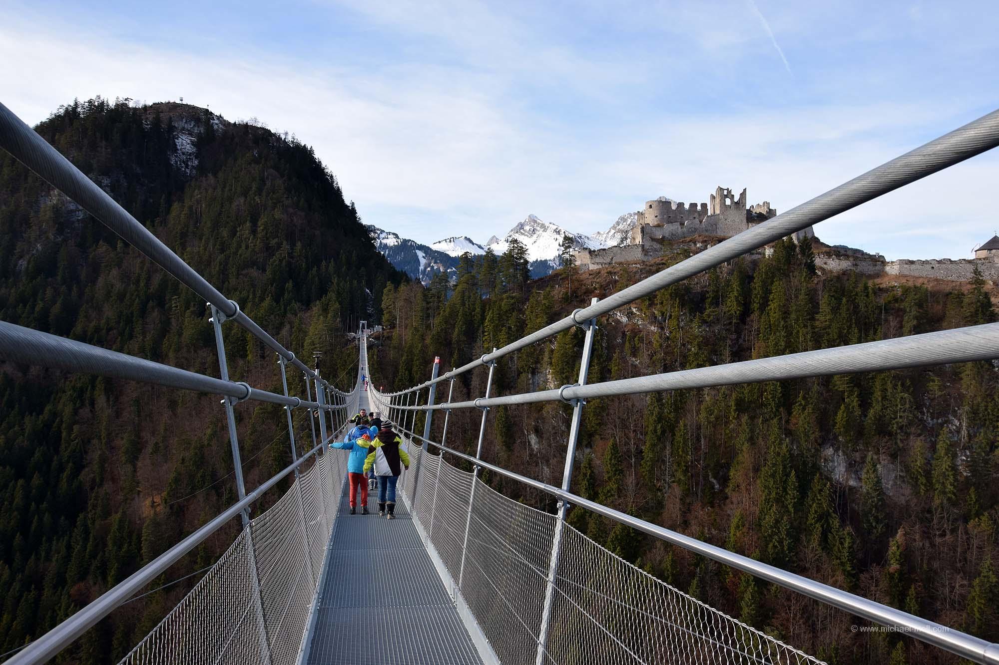 Spaziergang auf der highline179