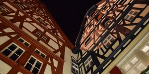 Fachwerk in Rothenburg
