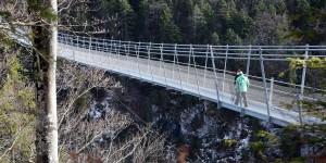 Hängebrücke in Österreich
