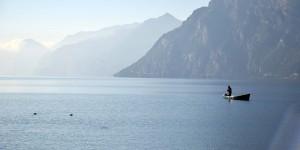 Noch ist schönes Wetter am Gardasee