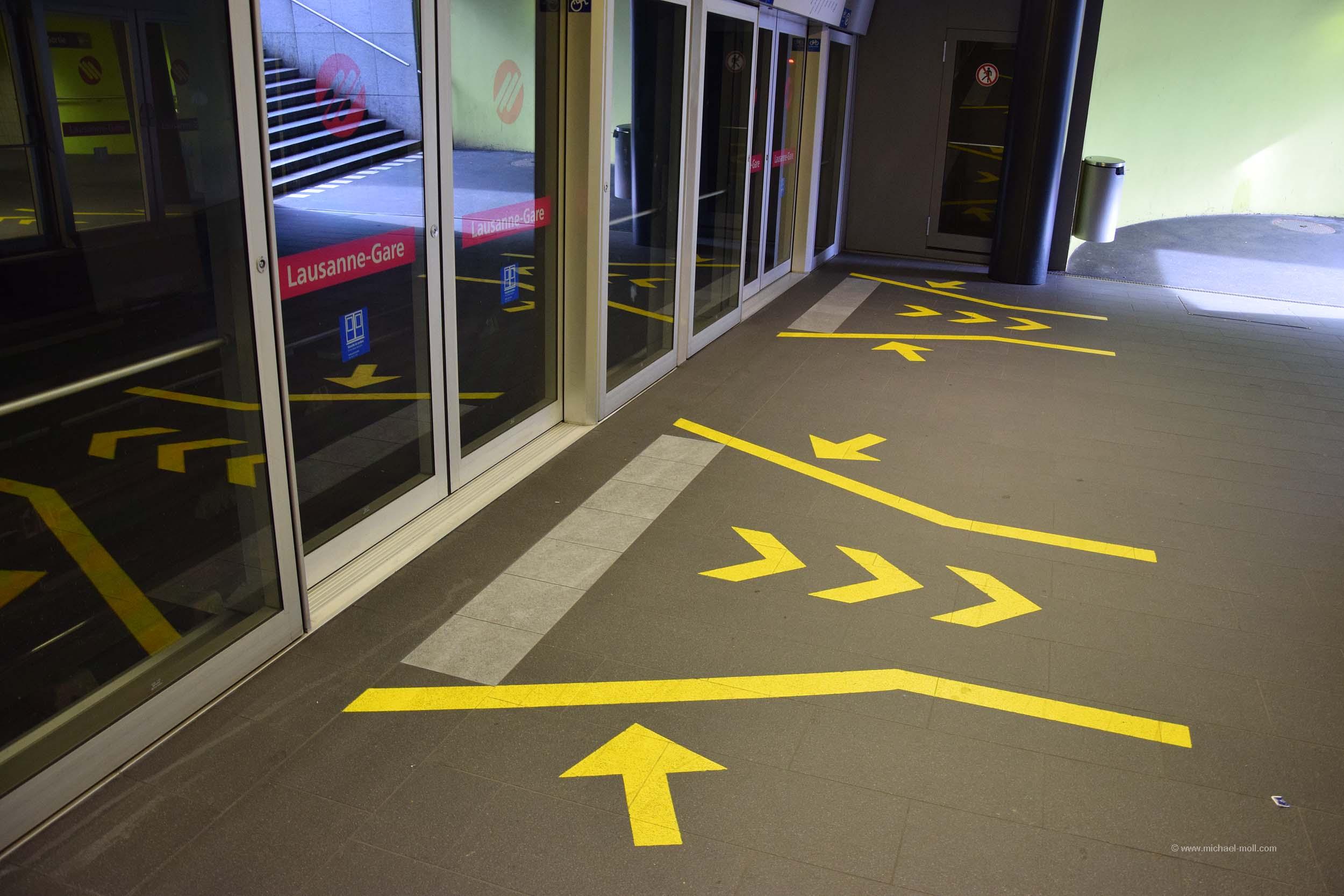 Zugang zur U-Bahn