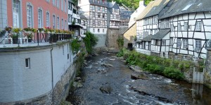 Die Rur in Monschau