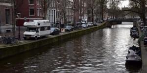 Wohnmobil in Amsterdam