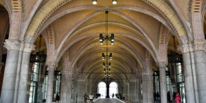 Unterhalb des Rijksmuseums