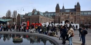 Platz hinter dem Rijksmuseum