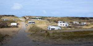 Campingplatz in den Dünen