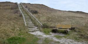Zugang zum Aussichtspunkt