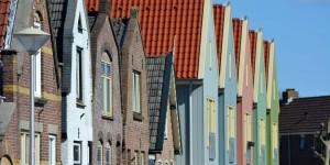 Häuser in Den Burg