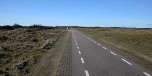 Wohnmobil auf Texel