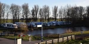 Wohnmobilstellplatz am IJsselmeer