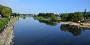 Weser in Rinteln