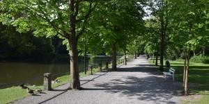 Schlossgarten von Bückeburg