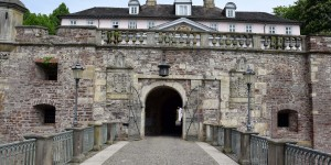 Burgeingang in Bad Pyrmont