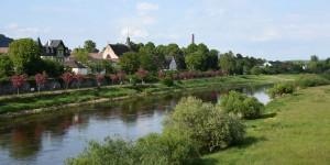 Die Weser bei Höxter