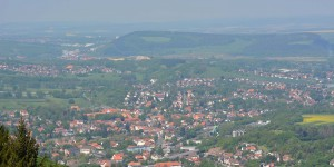 Blick auf das Harzer Vorland
