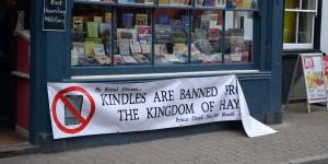 Kindle verboten