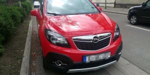 Front vom Opel