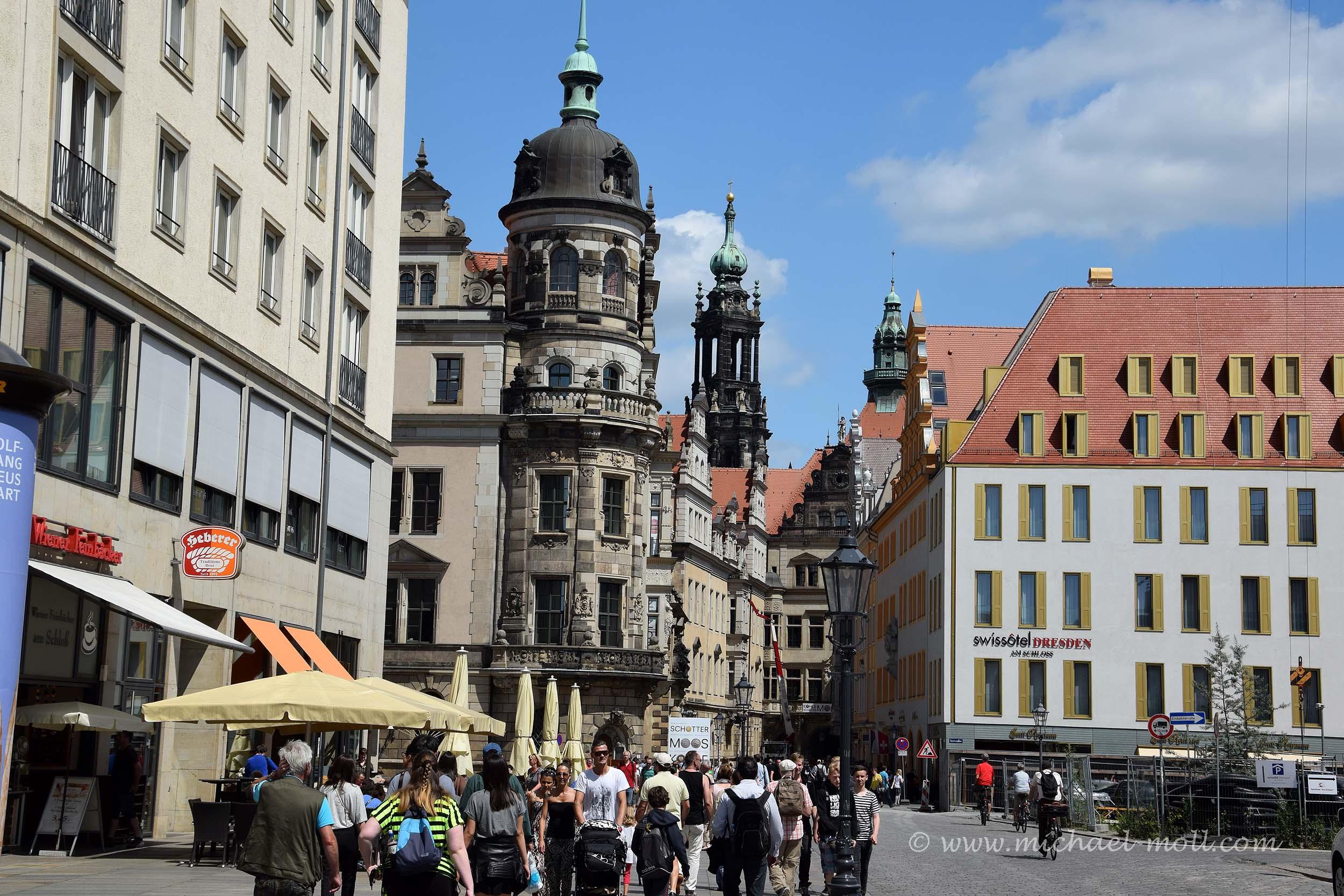 Marktplatz in Dresden