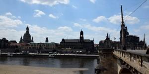 Dresden mit der Elbe