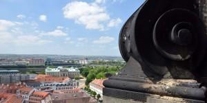 Ausblick von der Dreikönigskirche