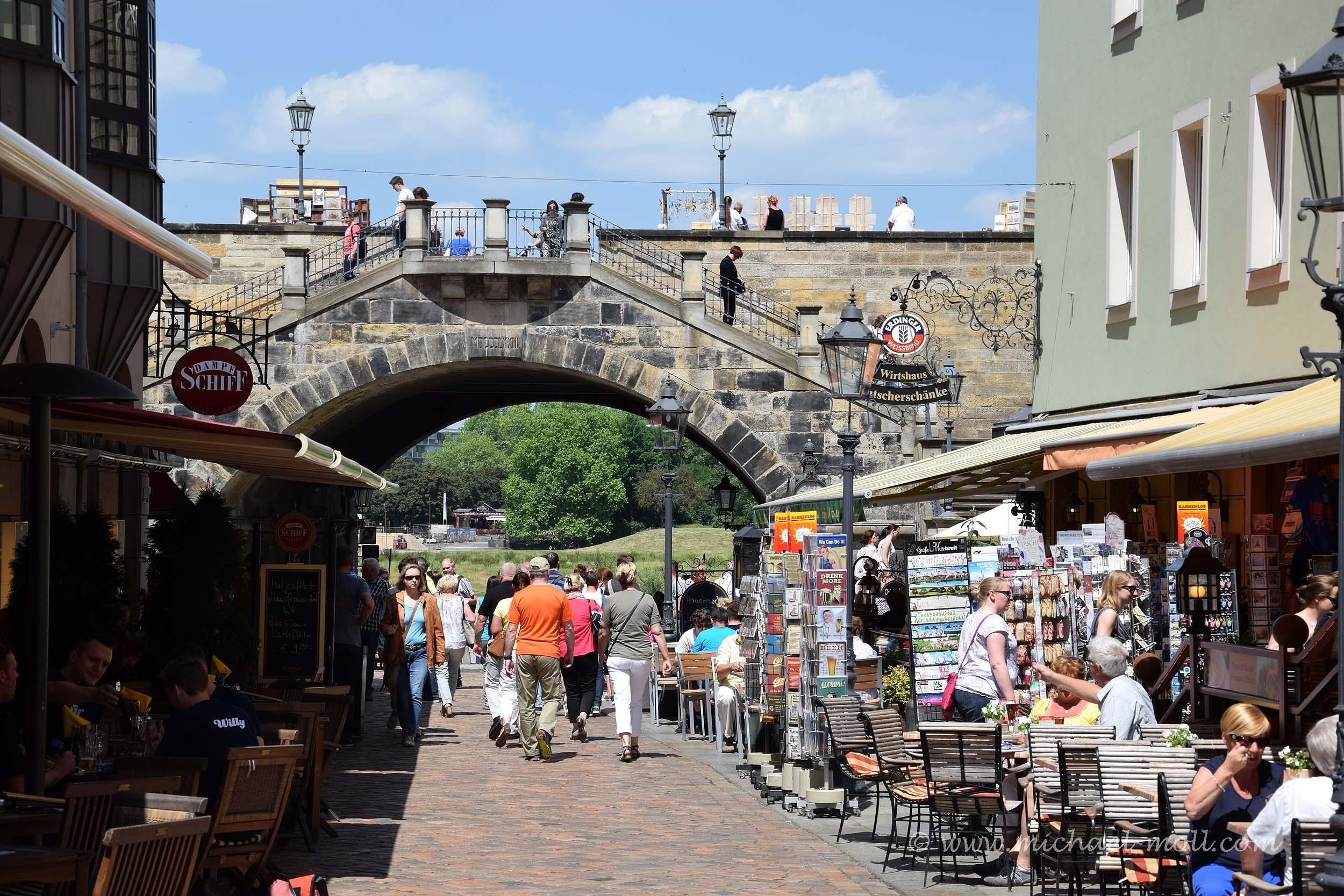Brücke an der Brühlschen Gasse