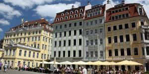 Häuser an der Frauenkirche