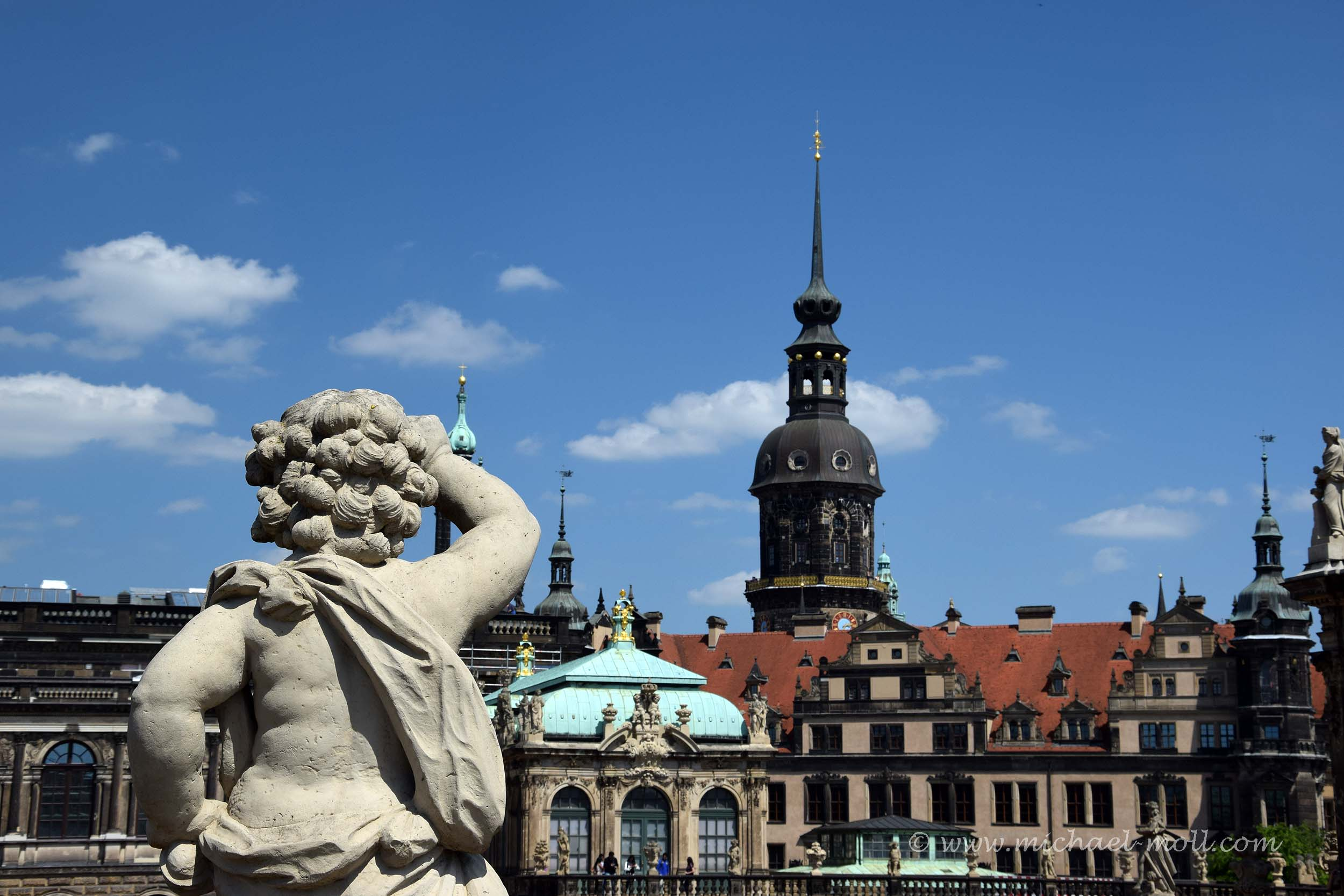 Skulptur am Zwinger