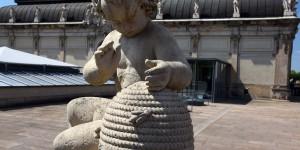 Imker-Skulptur