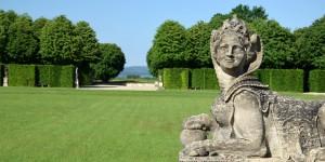 Skulptur im Barockgarten